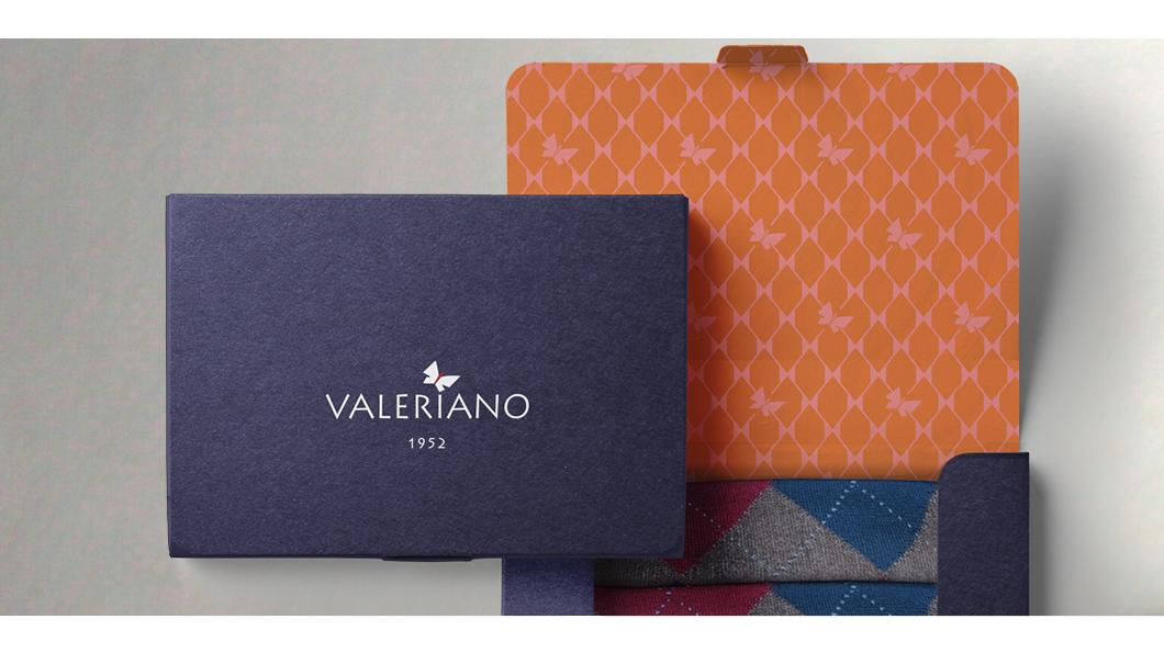 Scatola 'VALERIANO' automontante - stampa serigrafica + stampa litografica