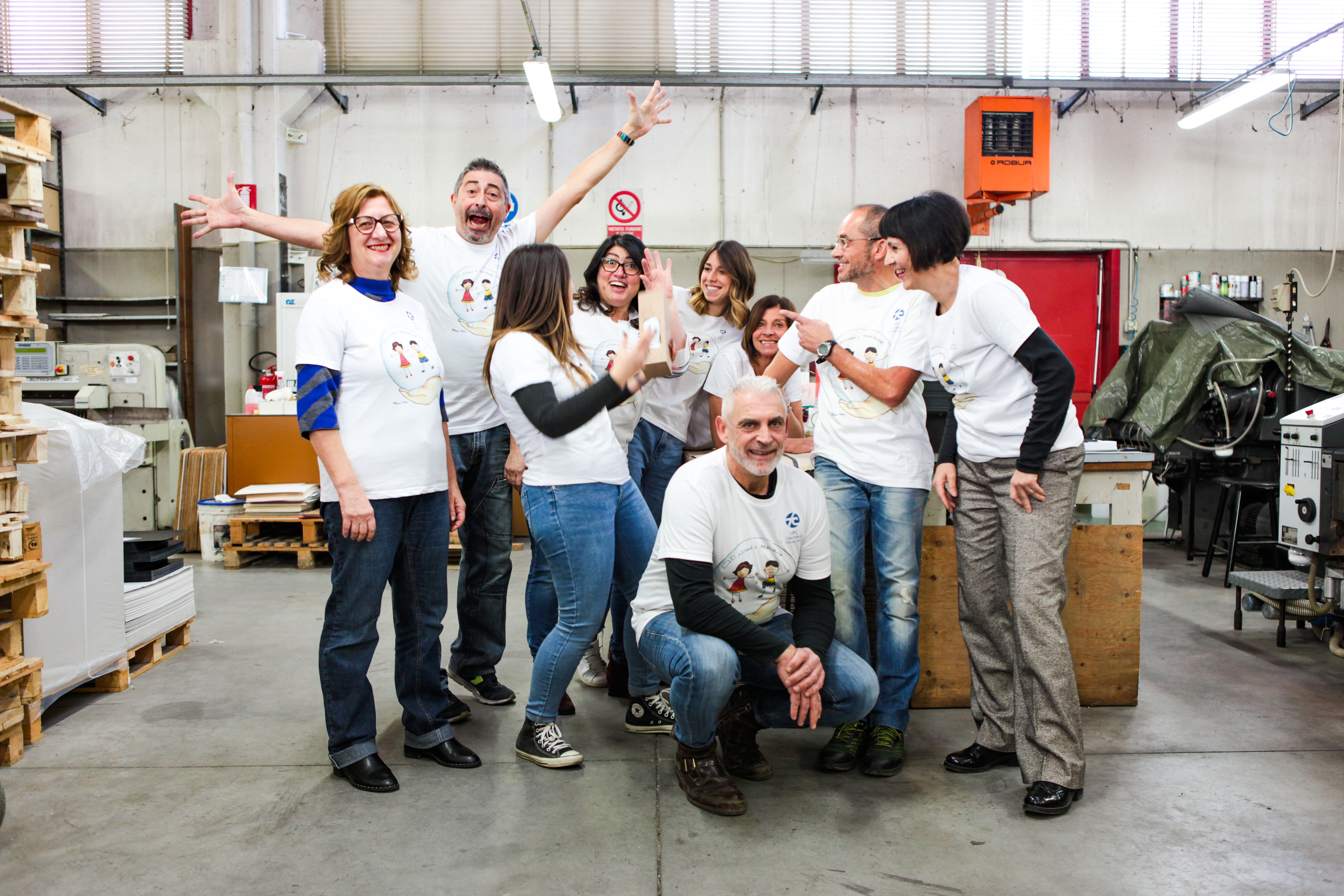 Il nostro Team #insiemeperlaricerca